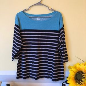3/$30 - JC Penney, 3/4 sleeve top
